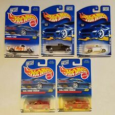 LOT Hot Wheels Ford F-150 '40s Ford Truck 56 Ford Truck Pizza Delivery Marcus