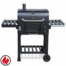 B-Ware Smoker Grill Hero XL BBQ GRILLWAGEN Holzkohle Grill Standgrill Ablage