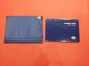 2000 -2003 Nissan Almera Tino Owners Manual Handbook User Guide Wallet 2001