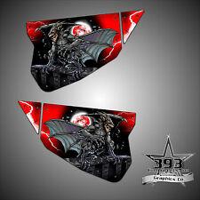 Polaris RZR 1000 XP TMW Sidewinder Venom Door Wrap Graphics Guardian Red