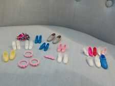 BARBIE KEN BAMBOLA LOTTO SCARPE X SHOES SCHUHE ACCESSORI OUTFIT LOT OOAK