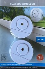 10x Glasbruchmelder Fensteralarm Fenster Tür Alarm Einbruchschutz Alarmanlage