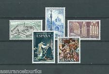 ESPAGNE - 1967 YT 1493 à 1497 - TIMBRES NEUFS** LUXE
