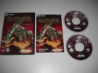 GLADIATOR - Sword Of Vengeance Pc Cd Rom - FAST POST