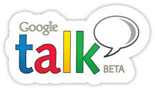 google talk googletalk social network adesivo etichetta sticker 15cm x 8cm