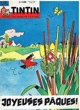 B13- Tintin N°704 Joyeuses Paques