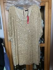 Ladies Plus Size 32 Sequin Dress From So Fabulous