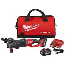 Milwaukee 2811 22 M18 Fuel Super Hawg Right Angle Drill With Quik Lok 60 Kit