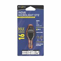 Nite Ize Inova Microlight STS Swipe-To-Shine Smoke Grey Keychain LED Flashlight