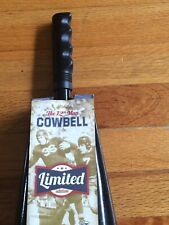 Wembley Limited Edition 12th Man Cowbell Black Cow Bell Black Handle Nip New $32