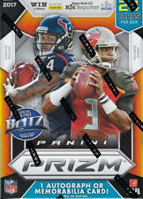 2017 PRIZM Football Unopened Box One AUTO or Rookie Jersey Card Patrick Mahomes