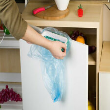 Portable Kitchen Garbage Bag Plastic Bracket Hanging Racks Holders Trash Storage