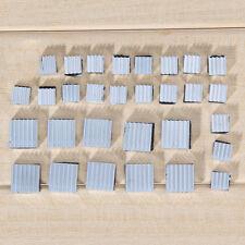 30PCS Aluminum Heatsink Cooler Fan Adhesive Kit  Set for Cooling Raspberry Pi