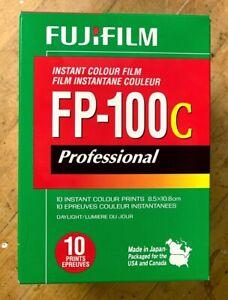 Fujifilm FP-100C Fuji Instant Color Film Expired 2019-08 Cold Stored