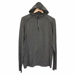 Lululemon Men's Large Metal Vent Tech Hoodie Long Sleeve 1/4 Zip Get Dirty
