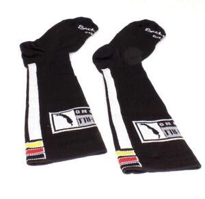 Sockguy SGX Continental Black Chili Cycling Socks L/XL 9-13