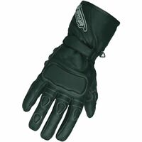 Spada Contour Motorcycle Motorbike Leather Vented Scooter Gloves - Black