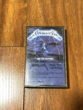 Vintage 1984 METALLICA Cassette Ride The Lightning Tape Tested Elektra Records