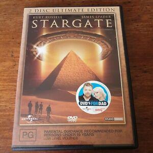 Stargate Kurt Russel DVD R4 VERY GOOD - FREE POST