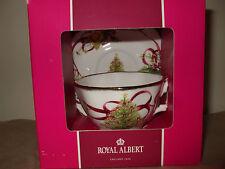 NEW Royal Albert Christmas Tree Cup and Saucer Royal Doulton