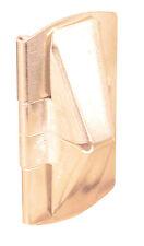 Prime-Line  Flip Vent  Window Lock  1 in. W x 2 in. L Brass  Steel  2 pk