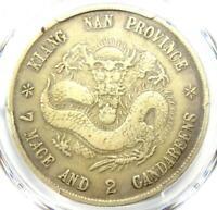 1898 China Kiangnan Dragon Dollar Coin Y-145a.2 LM-217 $1 - PCGS VF Details