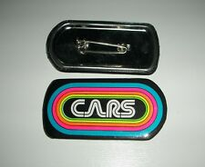 THE CARS KLOS 95.5 Promo Vintage Button Pin Pinback Badge NEW Original!!!