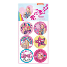 24pk JoJo Jo Jo Siwa Stickers Party Supplies Favors Favours Gift Craft Licensed