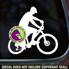 Mountain Bike Biking Trail Biker Sign Car Window Laptop Vinyl Decal Sticker