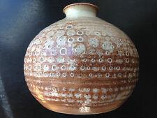 vase ancien en grès  Fontgombault poterie de l' abbaye Berry