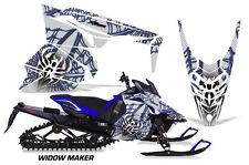 AMR Racing Yamaha Viper Graphic Kit Snowmobile Sled Wrap Decal 13-14 WIDOW U W