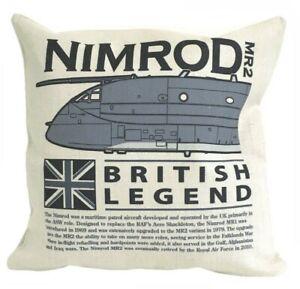 Hawker Siddeley Nimrod RAF Maritime Patrol Aircraft Cushion (Inner Included).