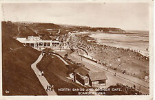 North Sands & Corner Cafe, SCARBOROUGH, Yorkshire RP