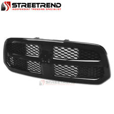 For 13-18 Dodge Ram 1500 Gloss Black OE Honeycomb Mesh Front Bumper Grill Grille