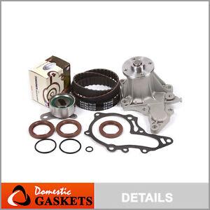 Timing Belt Water Pump Kit Fit 88-93 Toyota Celica Corolla Geo Prizm 4AF 4AFE