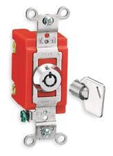 Hubbell HBL1221RKL Locking Switch