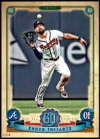 Ender Inciarte 2019 Topps Gypsy Queen 5x7 #253 /49 Braves