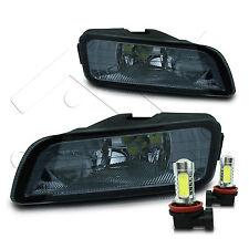 04-08 Acura TL Fog Light JDM w/Wiring Kit & COB LED Projector Bulbs - Smoke