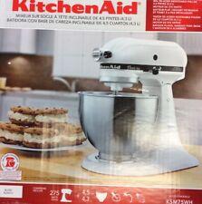 KitchenAid Classic Plus Series 4.5-Quart Tilt-Head Stand Mixer, Ksm75