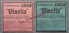 Publicité SAVON VINOLIA SOAP  advert 1898