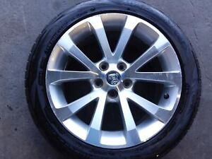 HOLDEN COMMODORE WHEEL ALLOY FACTORY, 18X8.0IN, VE, OMEGA/SS, 08/06-04/13 06 07