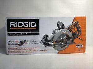 BRAND NEW-RIDGID R32104 7 1/4in Worm Drive Circular Saw