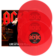 AC/DC LIVE AT RIVER PLATE 3x LP *LTD* RED VINYL SONY MUSIC COLUMBIA EU PRESS New