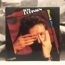 TOM ROBINSON - BLONDE & BLUE LP + INNER EX-/EX EX 1988 ITALY RCA – PL 71631