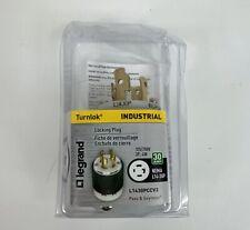 NIB Legrand 125/250 Volt 30 Amp Turnlock Industrial Locking Plug