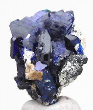 AZURITE Crystal Cluster Mineral Blue Specimen Gemmy MILPILLAS MEXICO