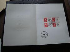 FRANCE -document 1er jour 29/12/1990 (albertville ski de vitesse) (cy48)french