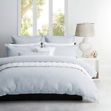 Platinum Logan and Mason Queen Size Bed Ascot Spa Duvet Doona Quilt Cover Set