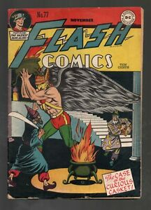 FLASH COMICS 77         BEAUTIFUL HAWKMAN COVER