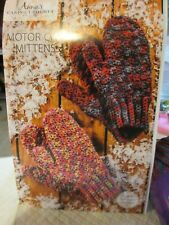 Annie's Caring Crochet Kit -- Motor City Mittens